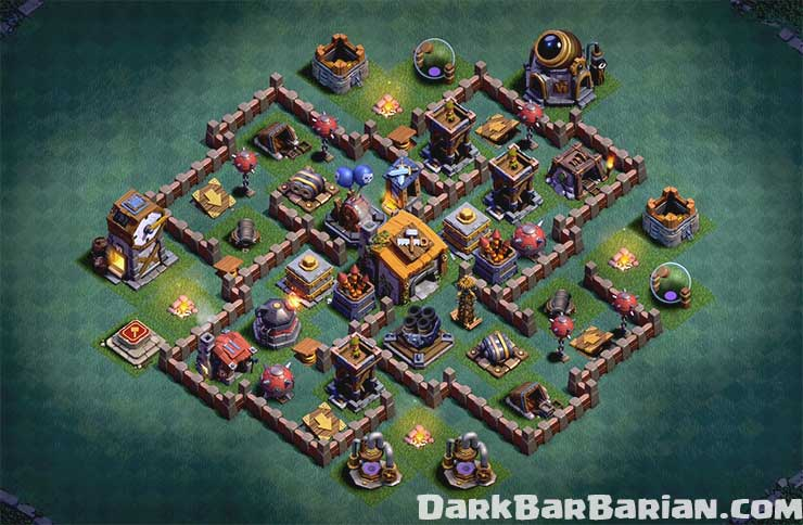Builder Hall 6 Undefeated Base 2