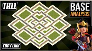 NEW BEAST TH11 HYBRID/TROPHY Base 2021!! COC Town Hall 11 (TH11) Trophy Base Design - Clash of Clans