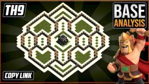 ULTIMATE BEST TH9 HYBRID/TROPHY Base 2021!! | Town Hall 9 (TH9) Hybrid Base Design - Clash of Clans